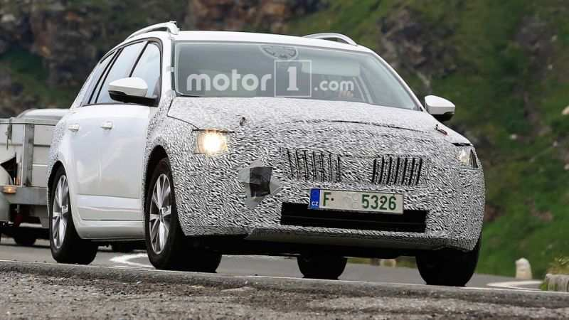 54 Best 2020 The Spy Shots Skoda Superb Review And Release Date