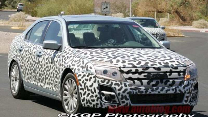 54 New Spy Shots Ford Fusion Exterior And Interior