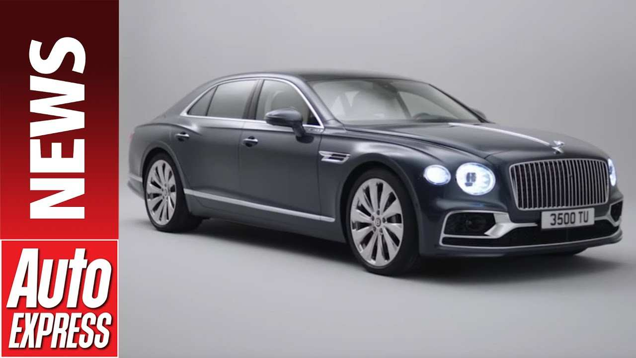 54 The 2019 Bentley Flying Spur Release