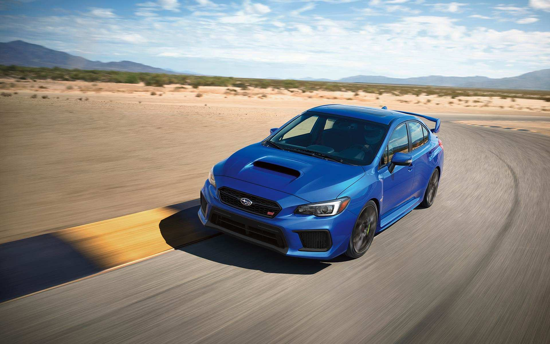 54 The 2019 Subaru Hatchback Sti Exterior