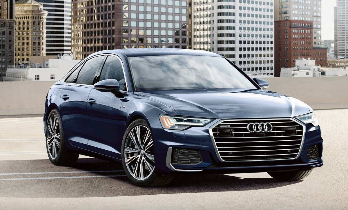 54 The 2019 The Audi A6 Research New