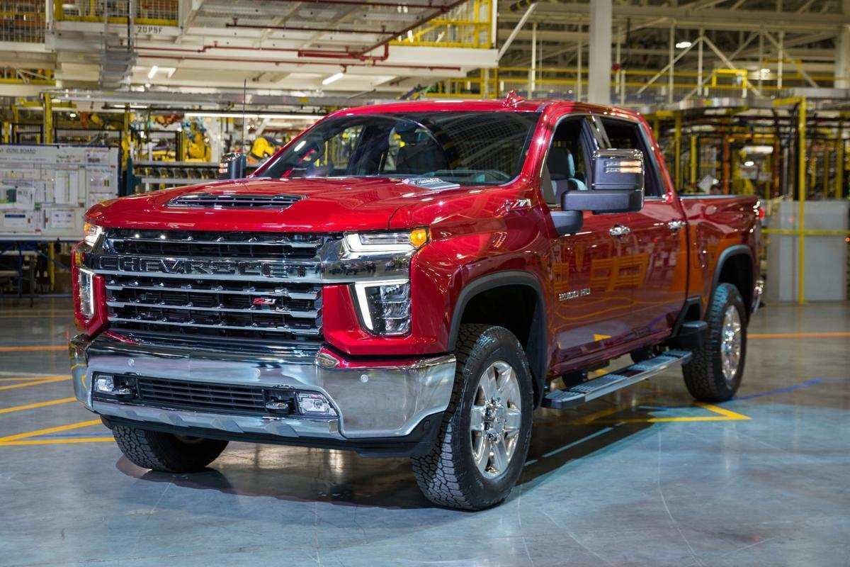 54 The 2020 Chevy Silverado Overview