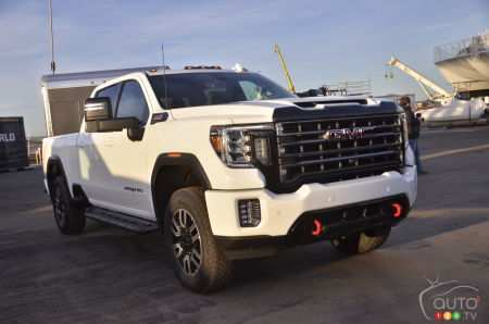 54 The 2020 GMC Sierra Hd Price Design And Review
