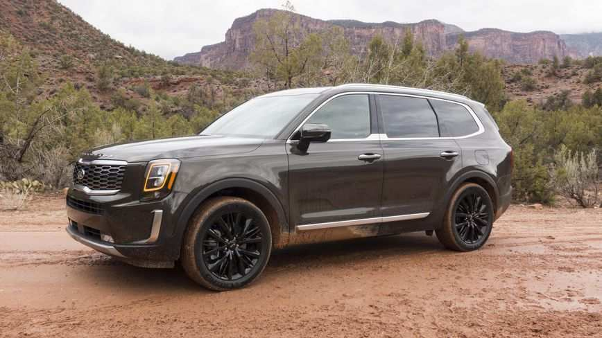 54 The 2020 Kia Telluride Images Spy Shoot