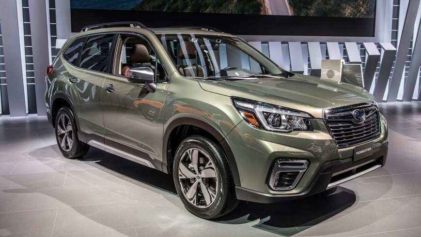 54 The 2020 Subaru Forester Redesign Redesign And Concept