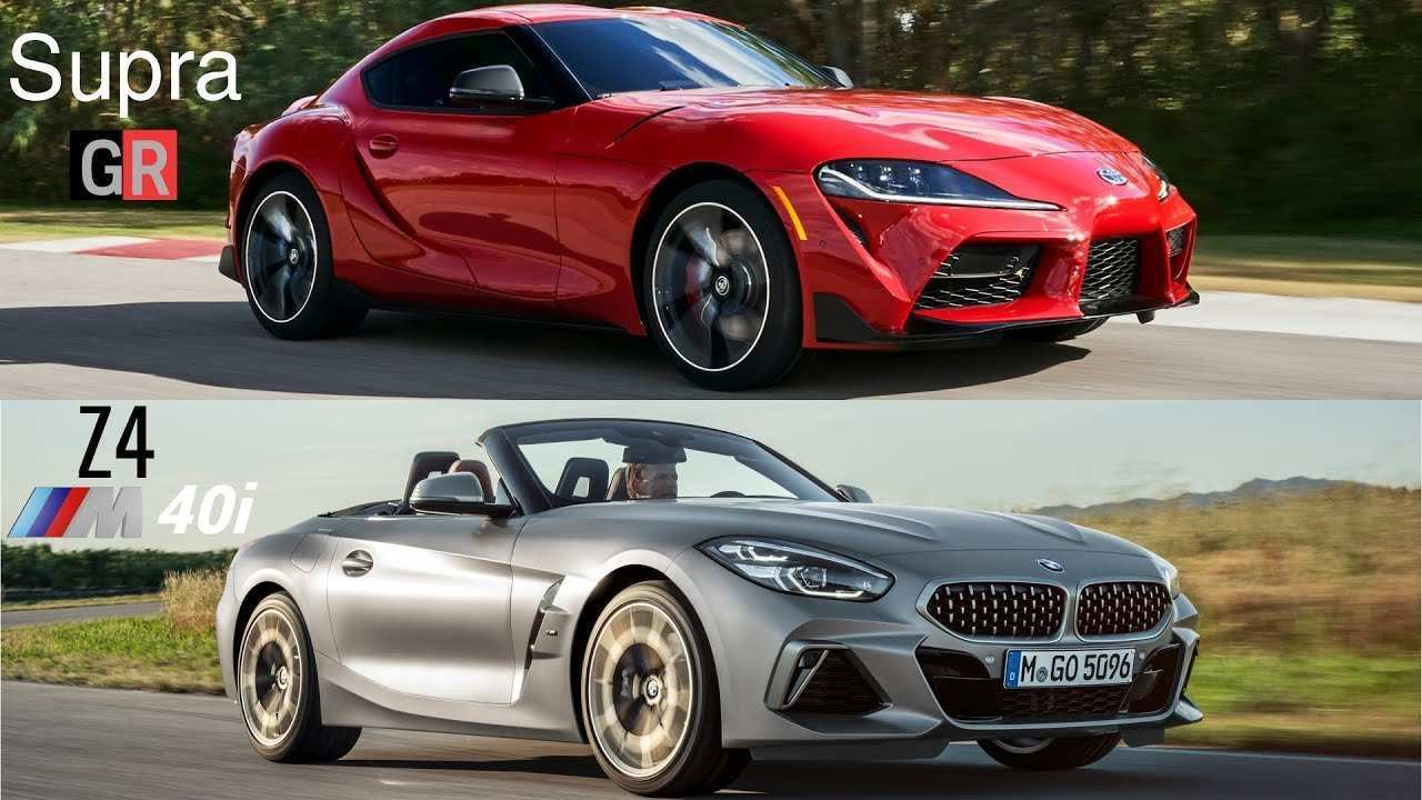 54 The 2020 Toyota Supra Vs BMW Z4 Research New