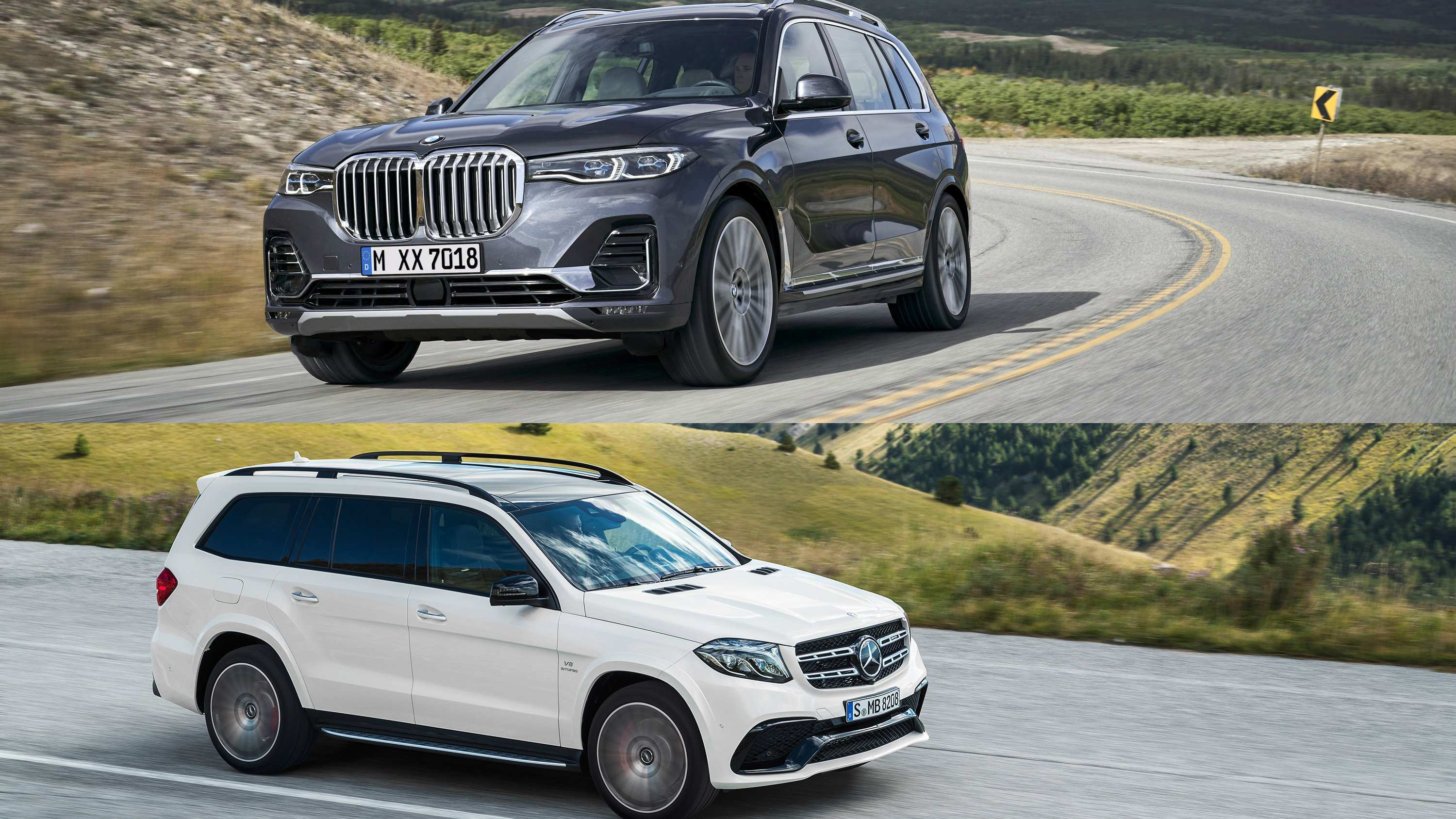 54 The BMW X7 Vs Mercedes Gls 2020 Overview