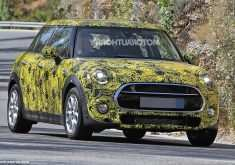 2019 Spy Shots Mini Countryman