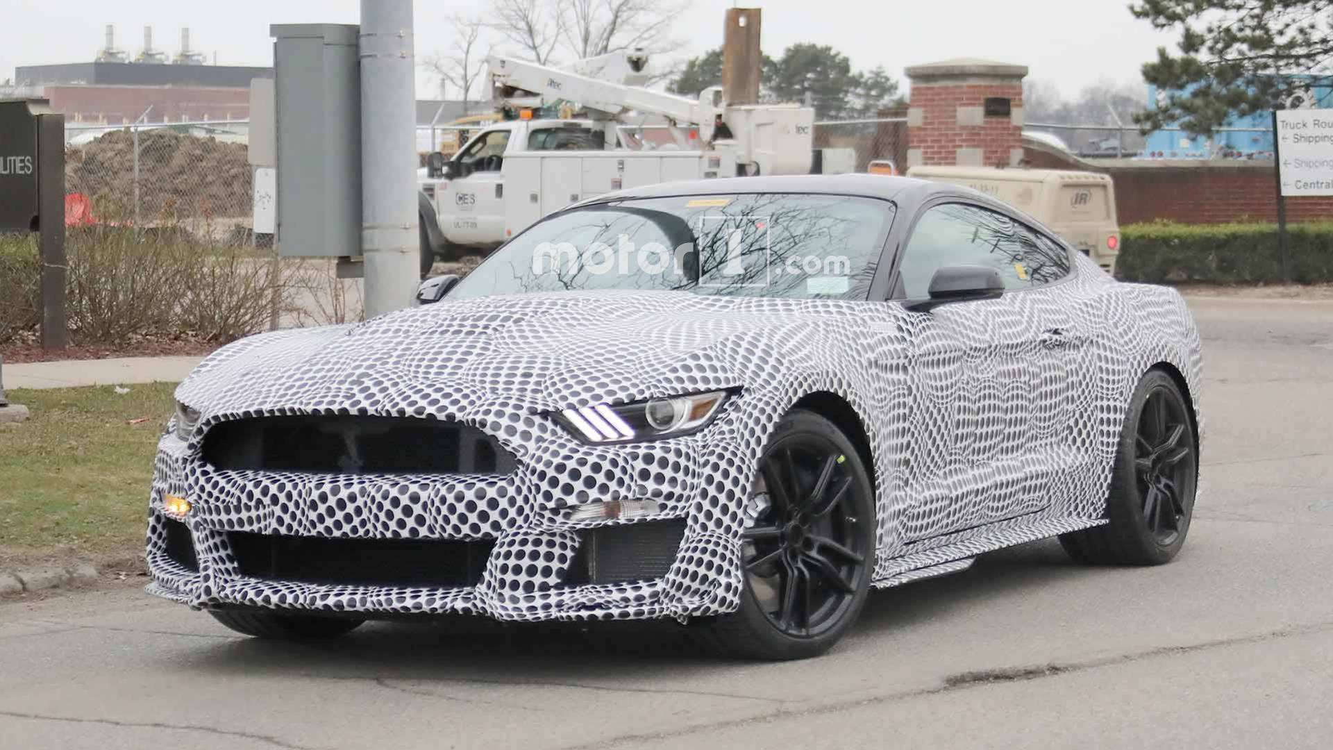 54 The Best 2019 The Spy Shots Ford Mustang Svt Gt 500 Performance