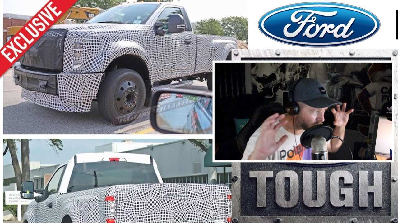 54 The Best 2020 Spy Shots Ford F350 Diesel New Review