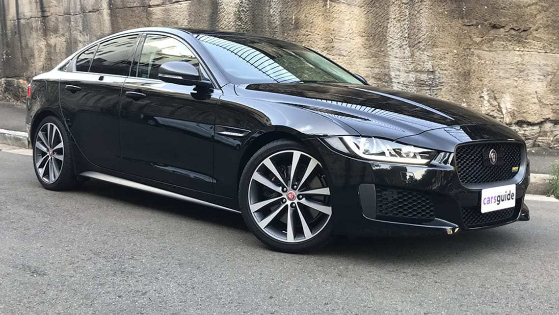 55 A 2019 All Jaguar Xe Sedan Concept
