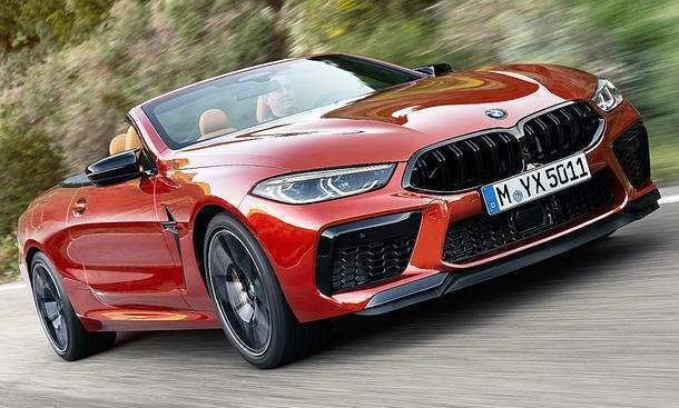 55 A 2019 BMW M8 Wallpaper
