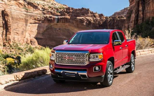 55 A 2019 GMC Canyon Concept And Review