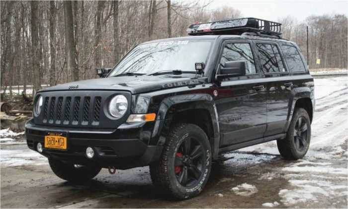 55 A 2020 Jeep Patriot Redesign