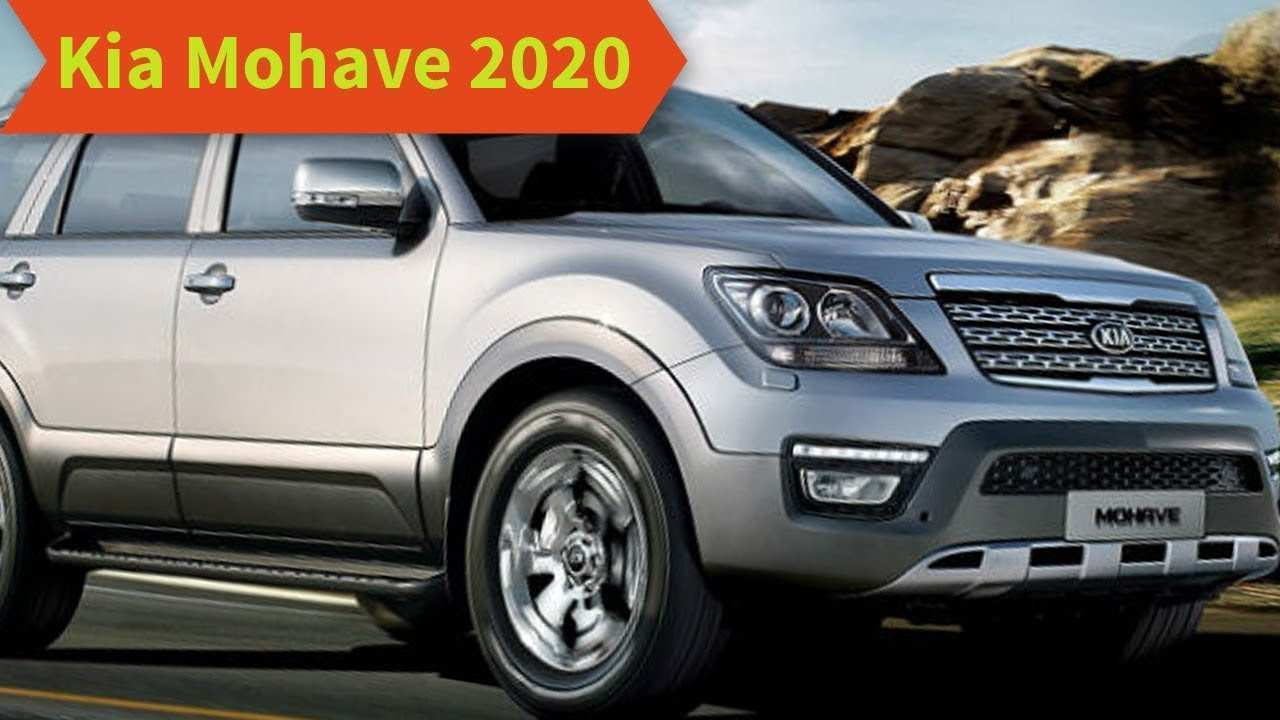 55 A 2020 Kia Mohave Images