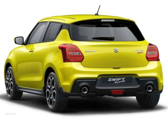 55 A 2020 New Suzuki Swift Sport Release Date And Concept
