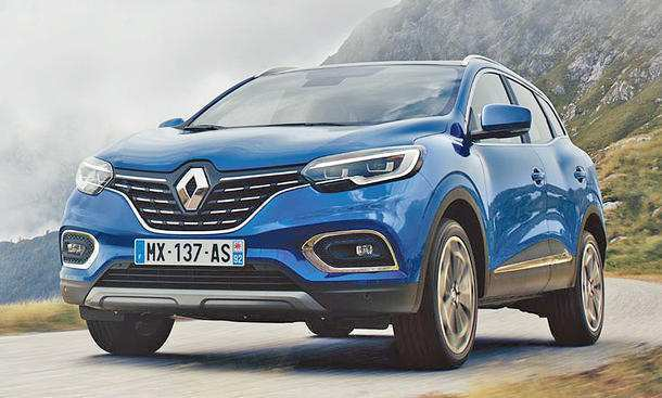 55 A 2020 Renault Kadjar Ratings