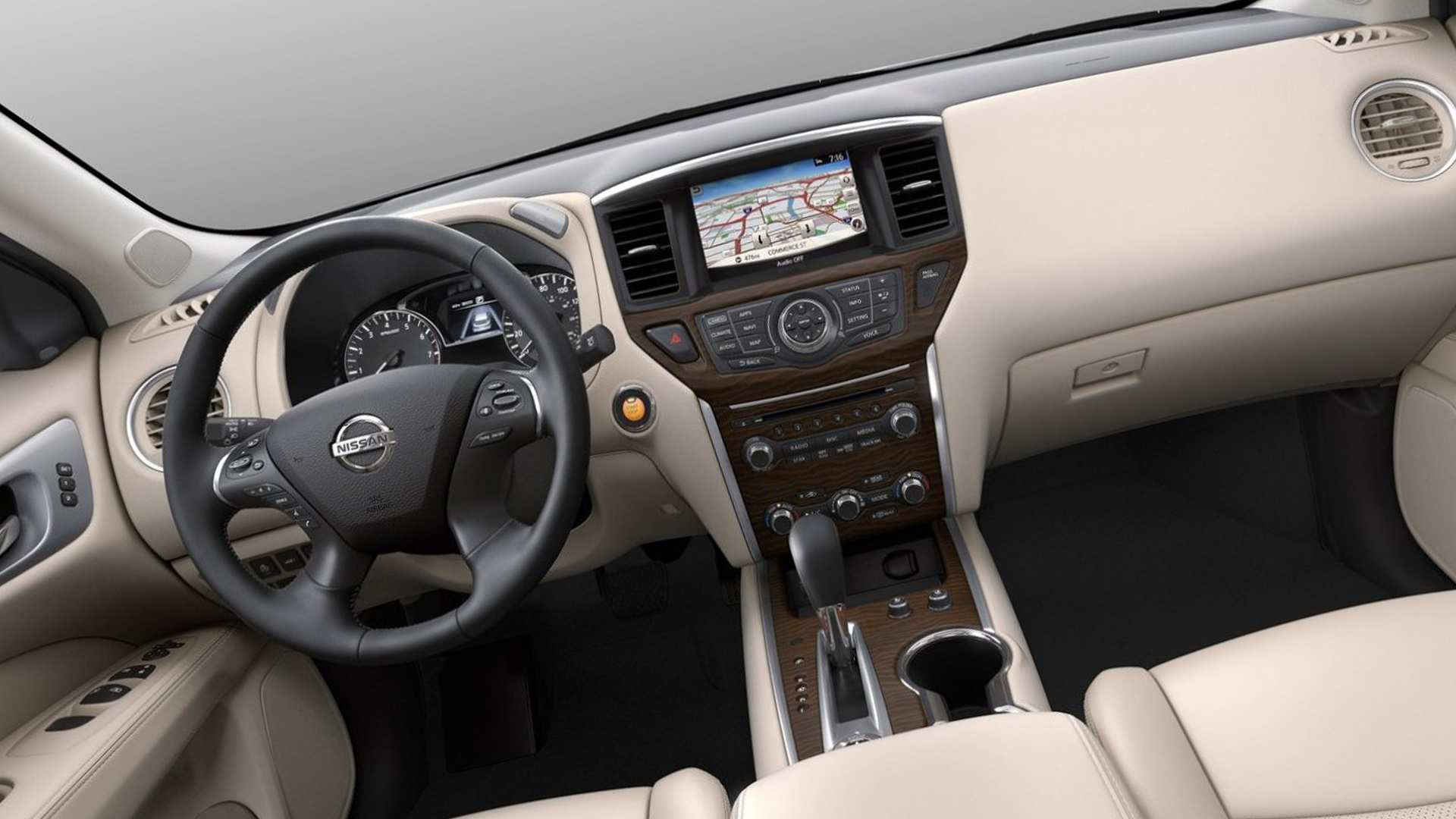 55 All New 2019 Nissan Pathfinder Hybrid Interior