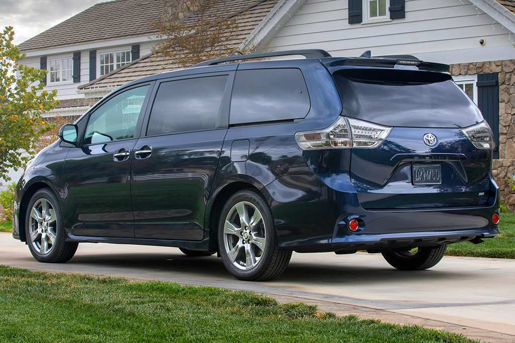 55 All New 2019 Toyota Sienna Interior