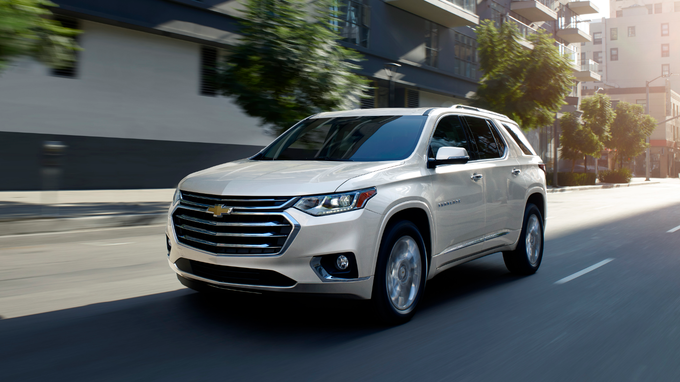 55 All New 2020 Chevrolet Traverses Configurations
