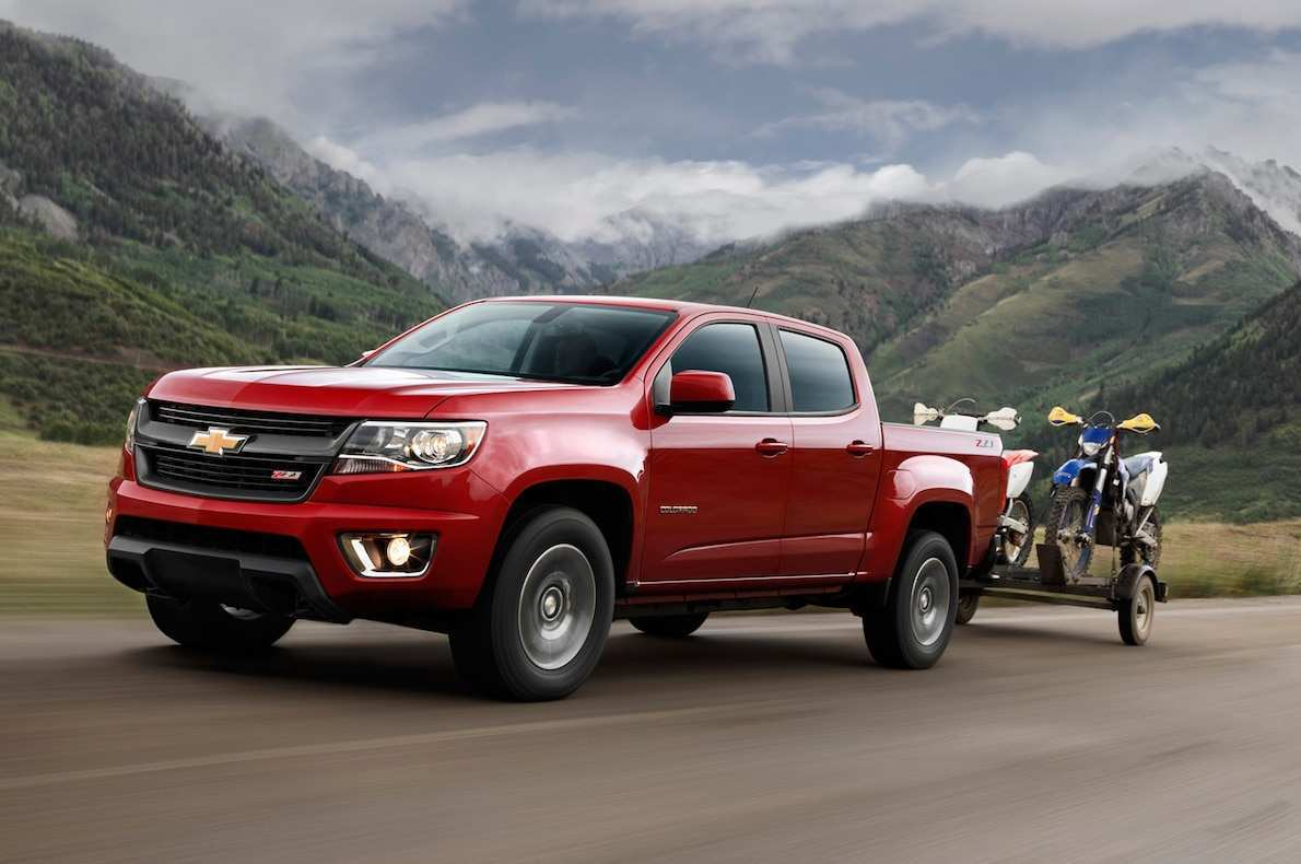 55 Best 2020 Chevy Colorado Going Launched Soon First Drive