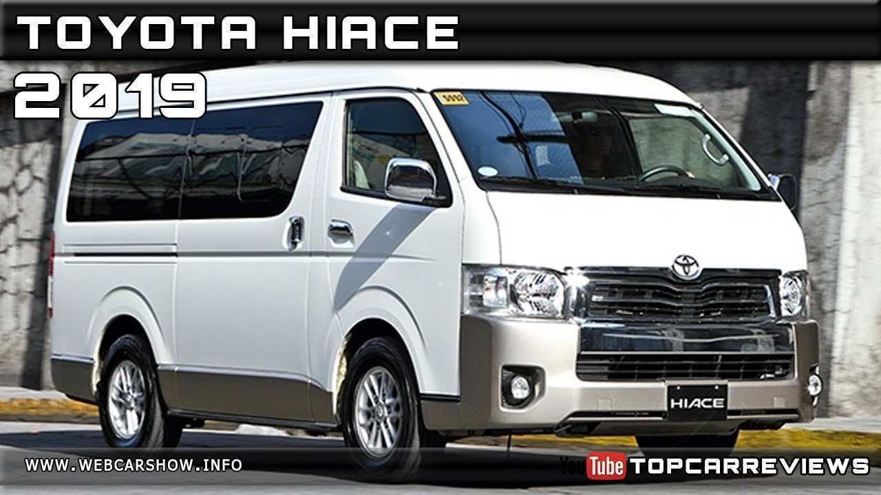 55 New 2019 Toyota Hiace Review