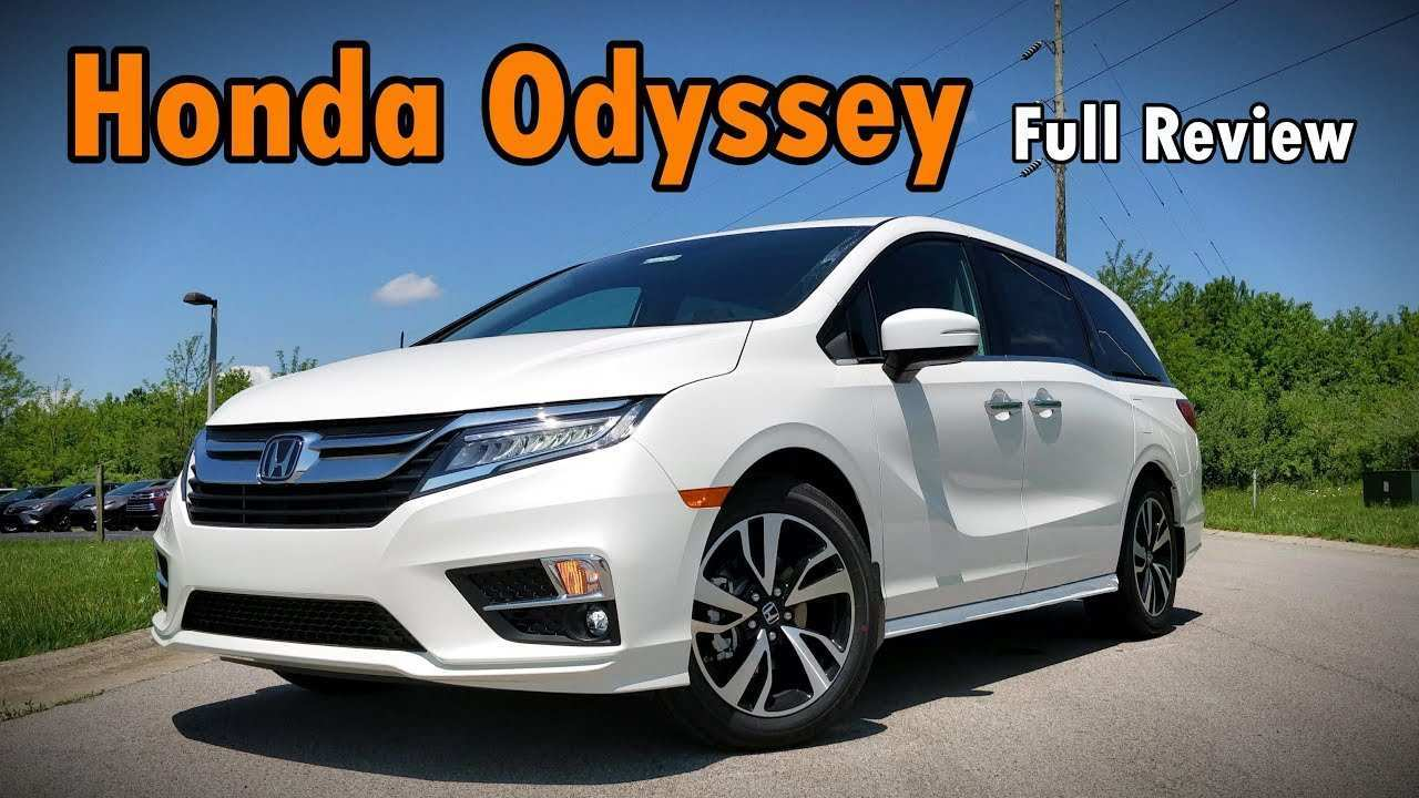 55 New Honda Odyssey 2019 Vs 2020 Model