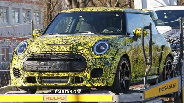55 New Spy Shots Mini Countryman New Model And Performance