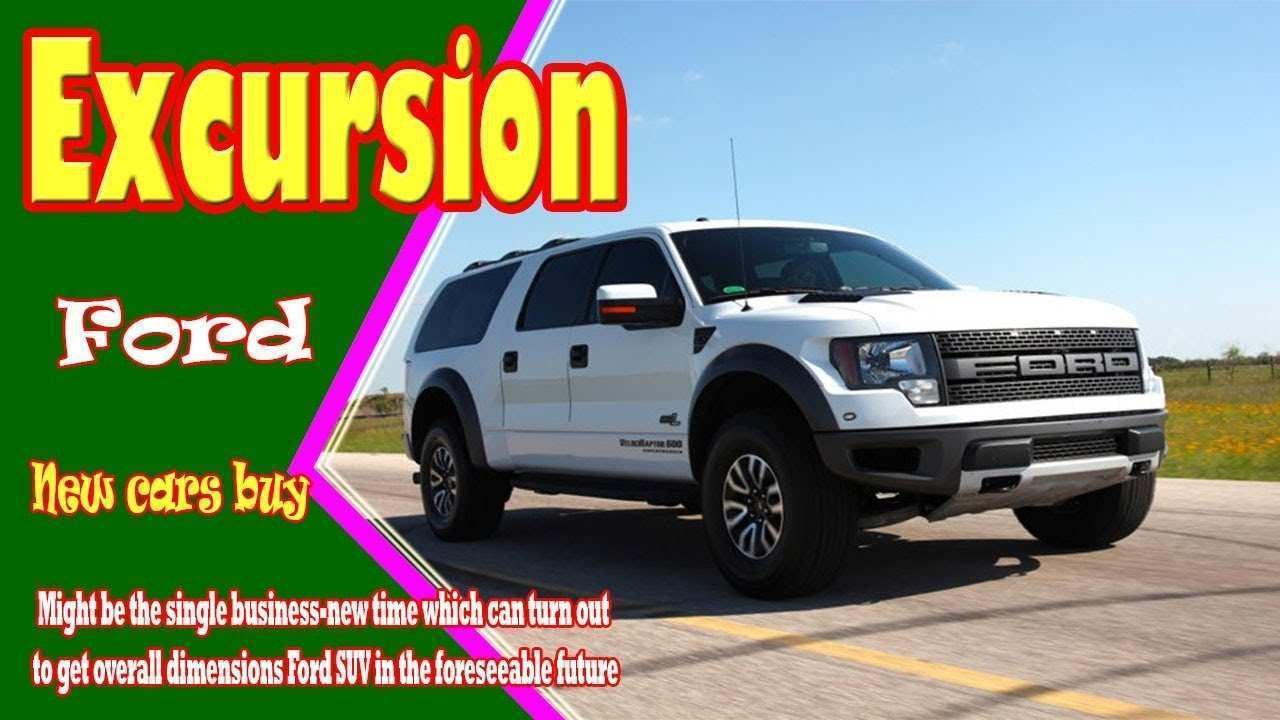 55 The 2019 Ford Excursion Diesel History