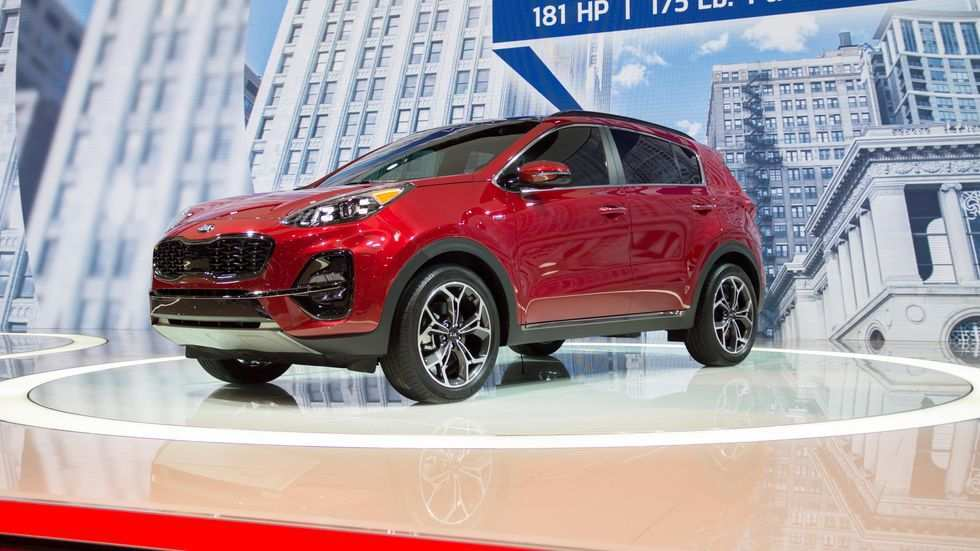 55 The 2020 Kia Sportage First Drive