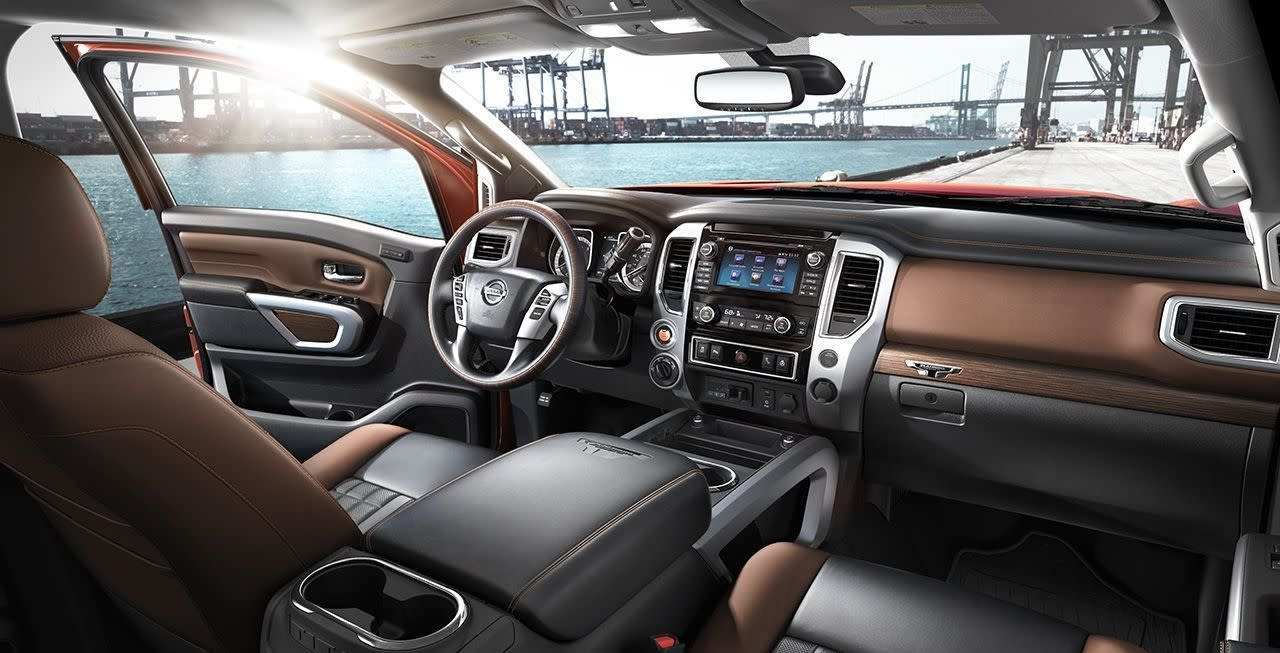 55 The Best 2019 Nissan Titan Interior 2 Release