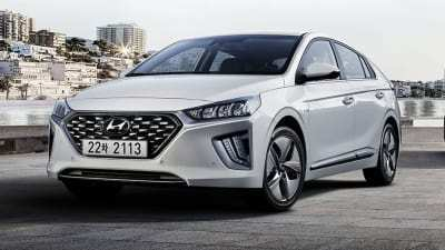 55 The Hyundai Hybrid 2020 Interior