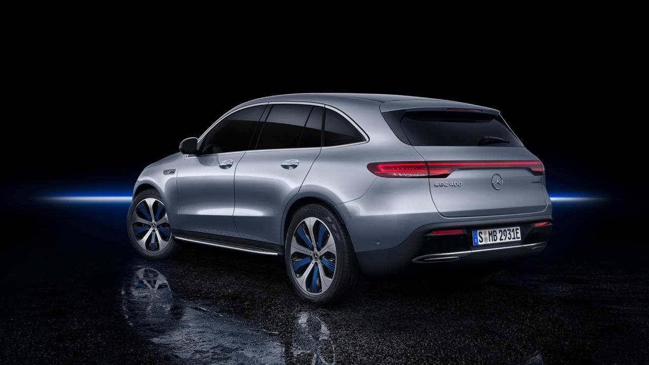 55 The Mercedes Benz Eqc 2019 New Concept