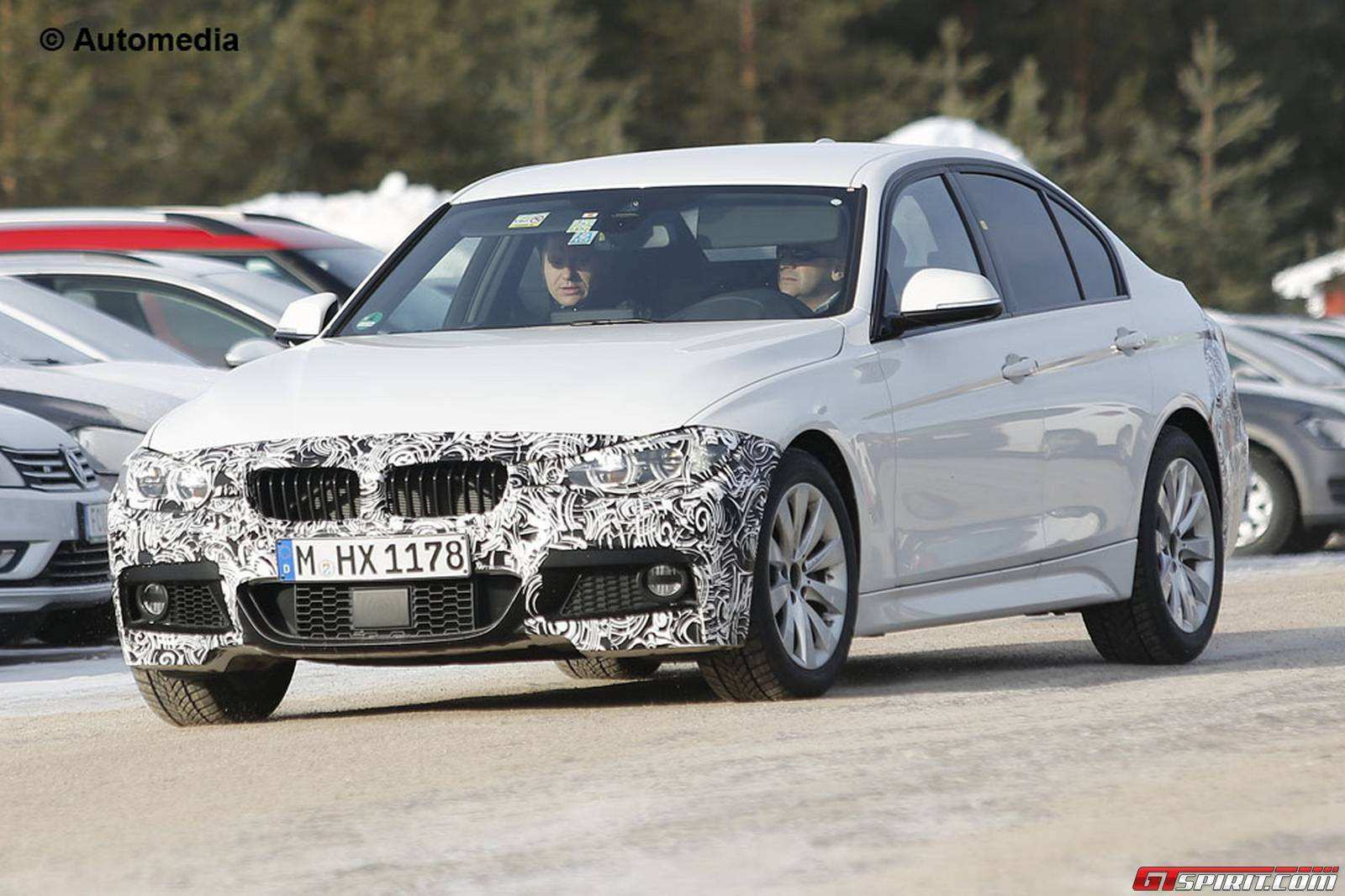 55 The Spy Shots BMW 3 Series Performance And New Engine