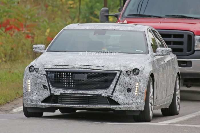 55 The Spy Shots Cadillac Xt5 Photos