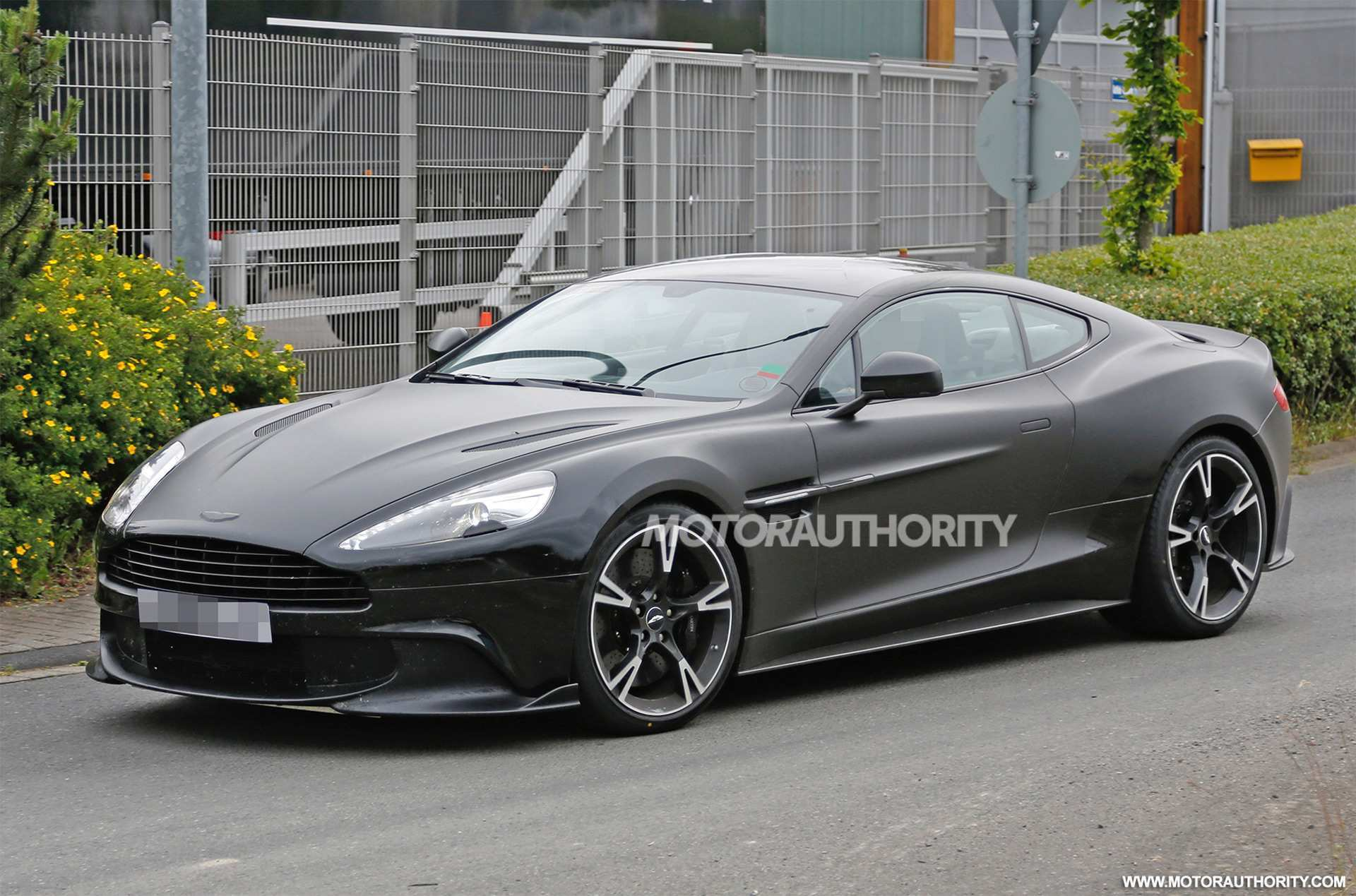 56 A 2019 Aston Martin Vanquish Speed Test