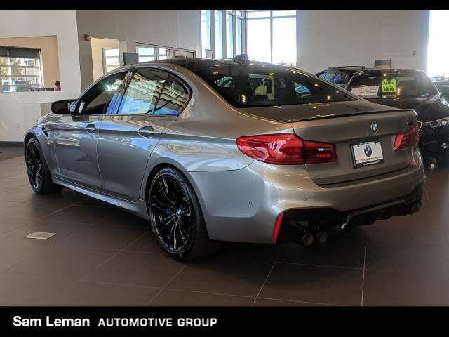 56 A 2019 BMW M5 Xdrive Awd Exterior And Interior