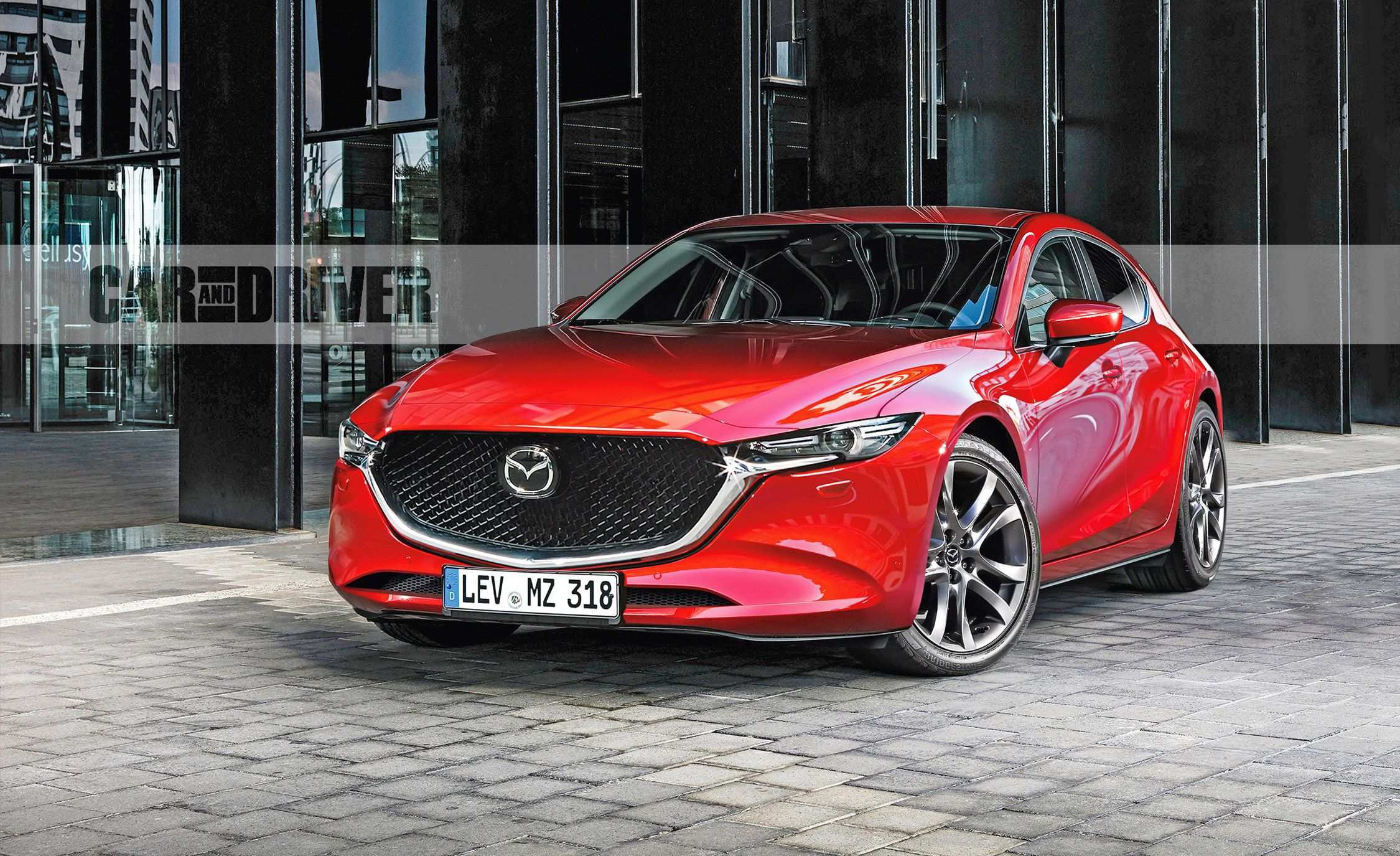 56 A 2019 Mazda 3 Turbo Redesign