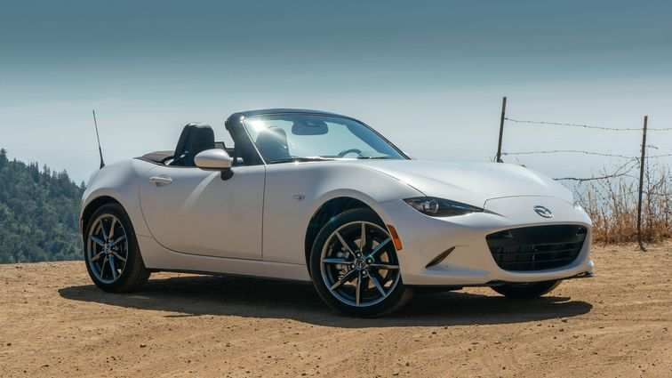 56 A 2019 Mazda Mx 5 Miata Speed Test