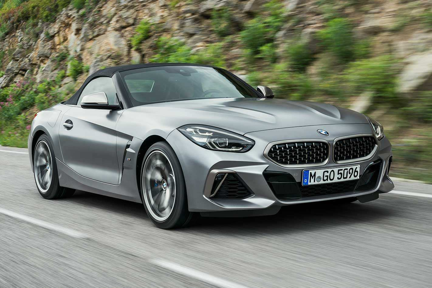 56 A 2020 BMW Z4 M Roadster Spesification