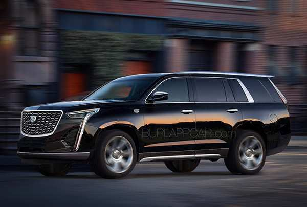56 A 2020 Cadillac Escalade Photos