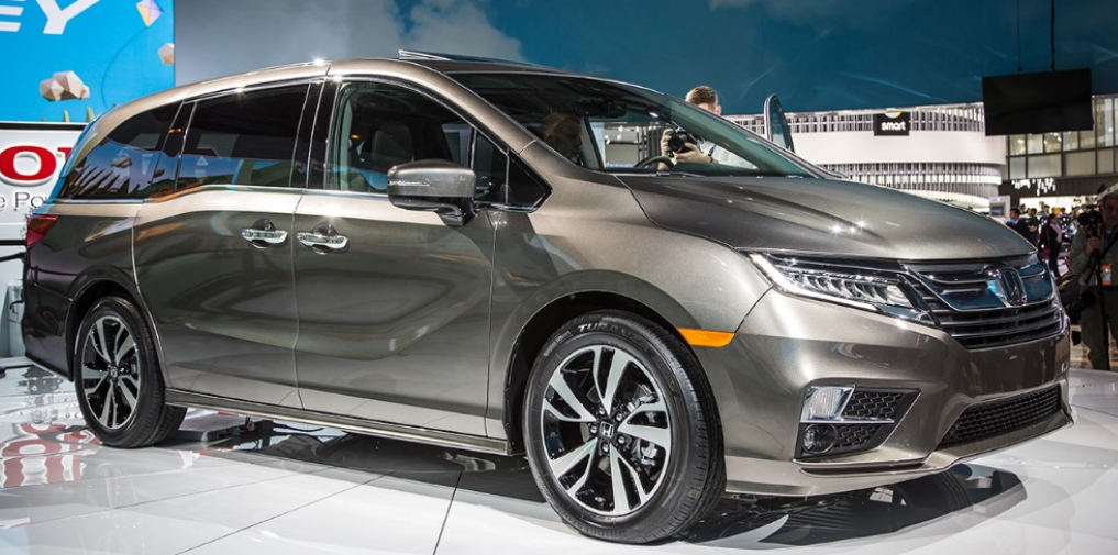 56 A 2020 Honda Odyssey First Drive