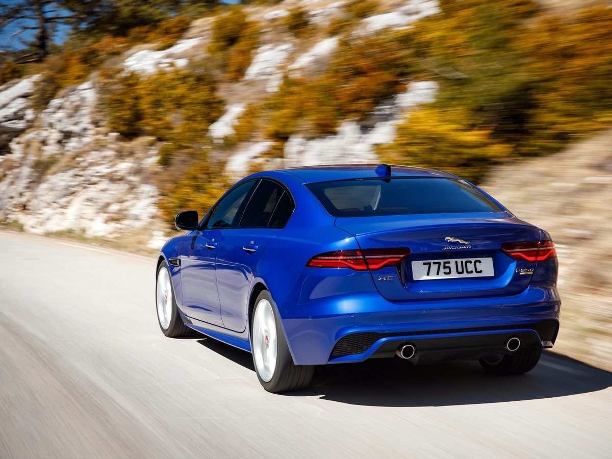 56 A 2020 Jaguar XE Performance And New Engine