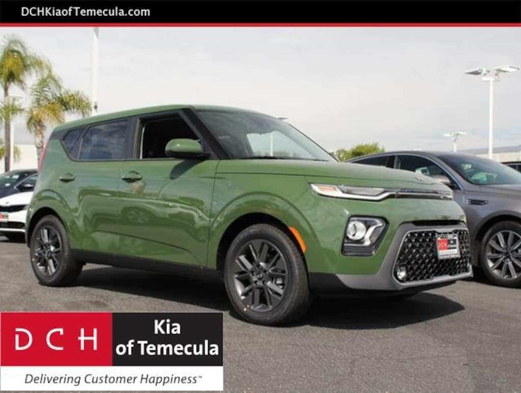 56 A 2020 Kia Soul Undercover Green Price Design And Review