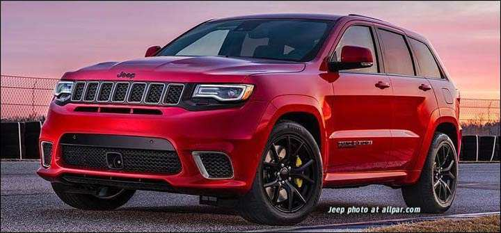 56 All New 2019 Grand Cherokee Srt Hellcat Release Date And Concept