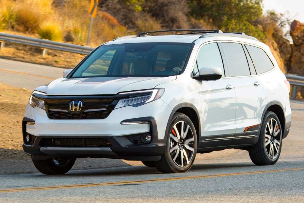 56 All New 2019 Honda Pilot Spy Configurations