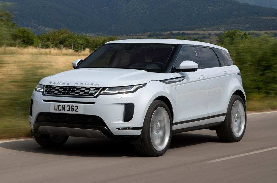 56 All New 2019 Range Rover Evoque New Review