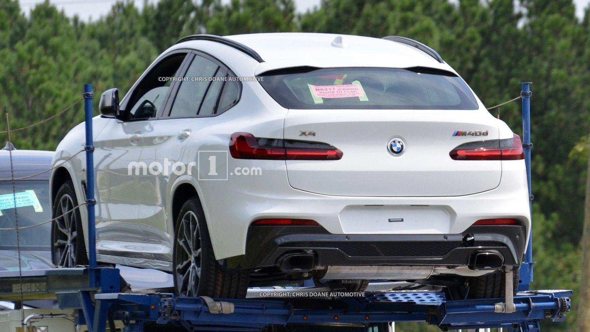 56 All New 2020 BMW X4 Spy Shoot