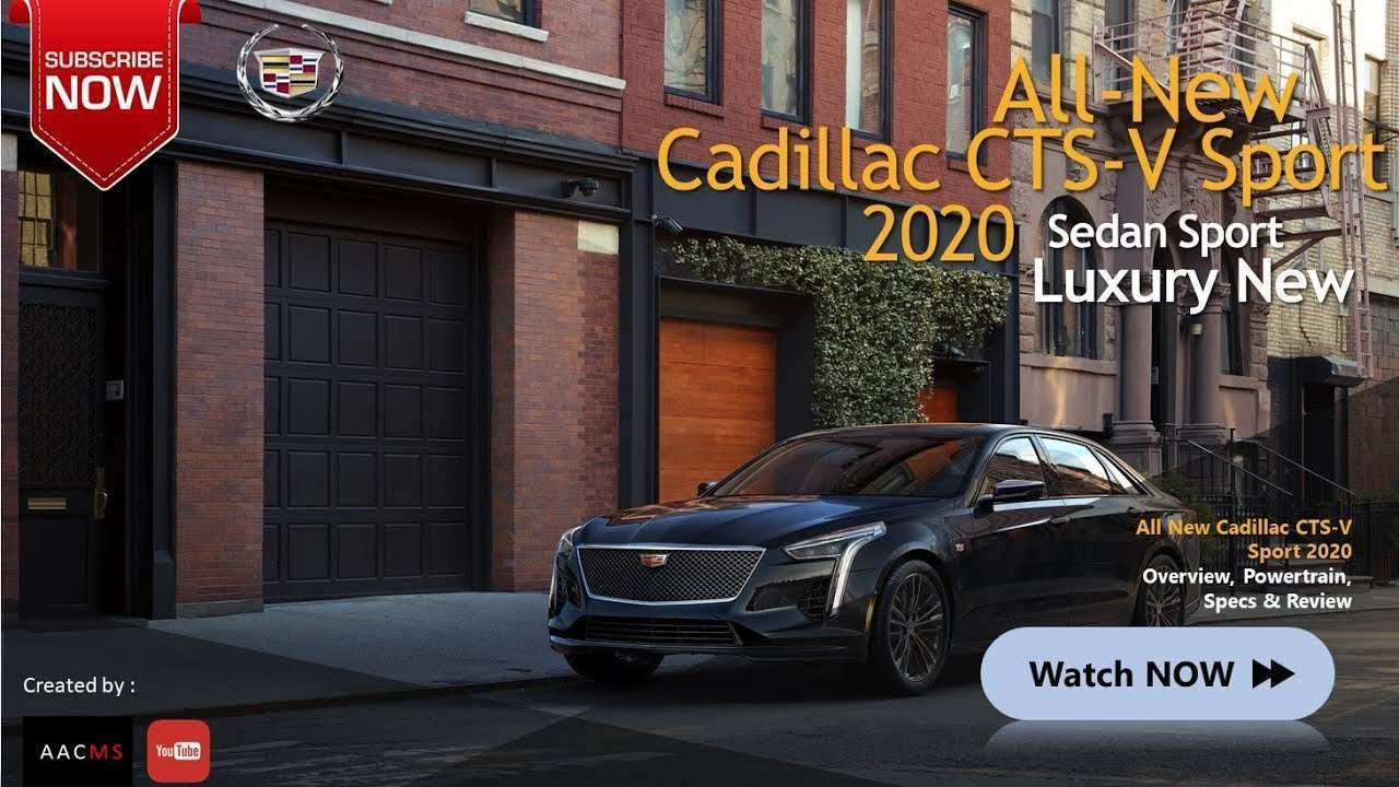 56 All New 2020 Cadillac CTS V Images