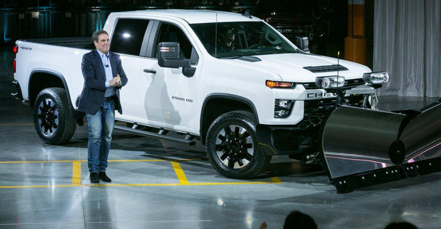 56 All New 2020 Chevrolet Silverado Picture
